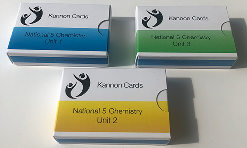 National 5 chemistry cards
